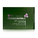 Food supplement Trimegavitals. Omega-3 concentrate and lycopene, 30 capsules 5FP183