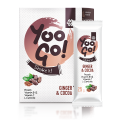 Yoo Go! Shake it! Powder for making a protein drink with cocoa and ginger, with a sweetener, 175 g